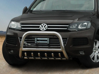 Volkswagen Touareg 2010 Onwards Stainless Steel 70mm A-Frame