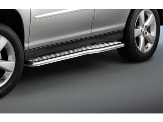 Side Step Set by Cobra for a Lexus RX300 Stainless Steel tube