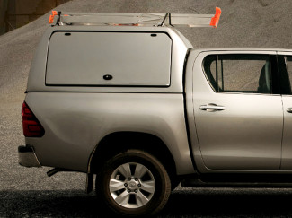Toyota Hilux Pro//Top Gullwing Side Access Doors Canopy High Roof Variant