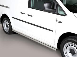 Side Bar Set By Misutonida For The VW Caddy 04 On 63mm Diameter Tube Bar
