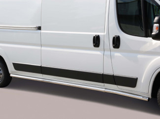 Fiat Ducato 14 Onwards LWB Stainless Steel 63mm Side Bars