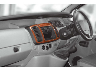 Renault Trafic Mk3 01-03 Wood Look  Dash Trim Kit
