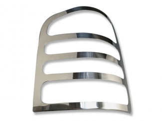 Chrome Rear Lamp Guards Ford Transit Mk7