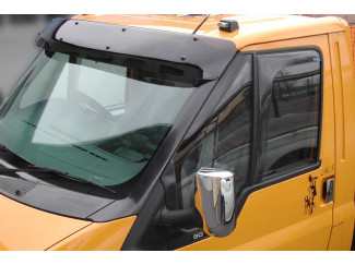 Ford Transit Mk6-7 Low Roof Sunvisor Dark Smoke