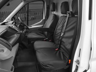 Ford Transit 2014 On Seat Covers For Drivers Rear and Passenger Bench