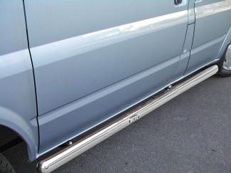 Ford Transit Mk6-7 Swb Stainless Steel Sidebars