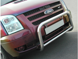 Ford Transit Mk7 06 On Stainless Steel Low A-Bar Nudge Bar Bull Bar 60Mm