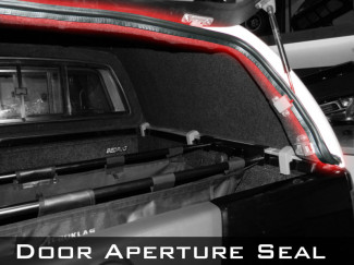 Tailgate Door Aperture Seal 240cm For Carryboy 560 Truck Top