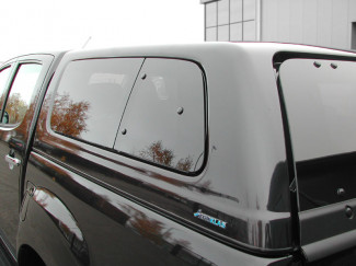 Isuzu D-Max 2012 On Left Hand Pop Out Window Set For Aeroklas Canopy