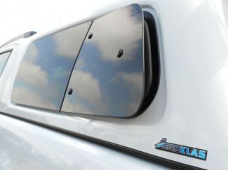 Ford Ranger 2012 On T6 Left Hand Pop Out Window Set For Aeroklas Canopy