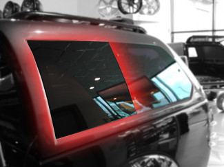 Alpha GSE Canopy Fixed Position Side Glass LH L200 2005 On