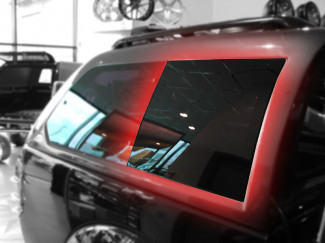 Alpha GSE Canopy Fixed Position Side Glass RH L200 2005 On