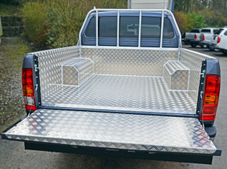 Toyota Hilux 16 Double Cab Samson Chequer Pickup Load Bed Liner