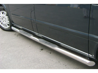 Mercedes Vito Mk2 Stainless Steel  Side Bar + Step