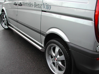 Mercedes Vito-Viano Side Bars Stainless Steel