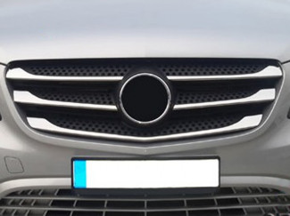 Mercedes Vito W447 2014 On Stainless Steel  Front Grill 5 Pce