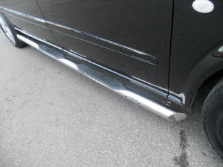 Stainless Steel  Side Bar + Step Mercedes Vito And Viano Mk3