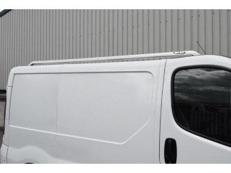 Vauxhall Vivaro SWB Roof Rails Stainless Steel Finish