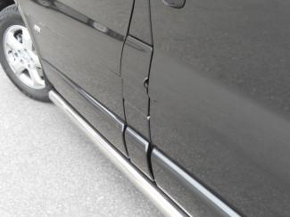 Vauxhall Vivaro 2-3 Lwb Side Rails Stainless