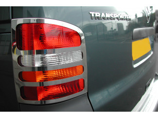 VW T5 Stainless Steel Rear Lamp Guards