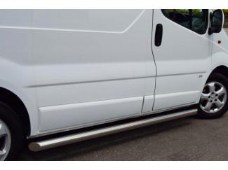 Vauxhall Vivaro stainless steel side bars