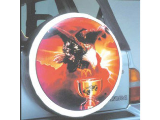 Wheel Cover Transfer Golden Eagle