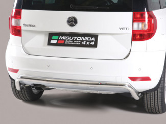 2014 On 4x2 Skoda Yeti Stainless Steel Rear Bar By Mach