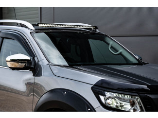Lazer Lights Nissan Navara Led Light Bar - Lazer Linear Roof Bar Integration