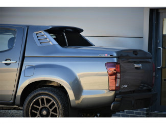 Double Cab Isuzu D-Max 2017 Alpha SCZ Sports Tonneau Cover In Primer