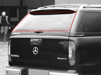 Alpha Canopy Type-E Rear Door Glass - Various Vehicles