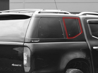 Alpha Canopy Type-E Right Hand Side Fixed Glass - Various Vehicles