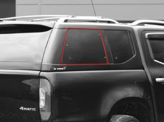 Alpha Type E Right Hand Side Pop Out Window Glass - Various Vehicles