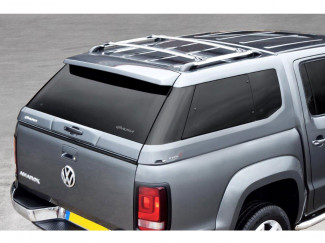 Alpha Type-E truck top fitted to a VW Amarok