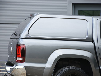 Vw Amarok Pickup Double Cab Aeroklas Hard Top Commercial Blank Sided With Central Locking