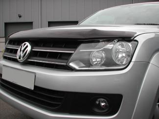 VW Amarok  Dark Smoke Bonnet Guard
