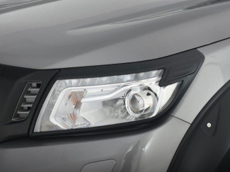 Nissan Navara NP300 2016 Onwards Black Head Lamp Covers