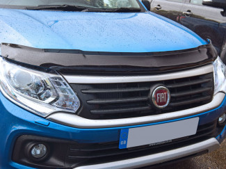 Fiat Fullback 2016 On Dark Smoke Bonnet Guard