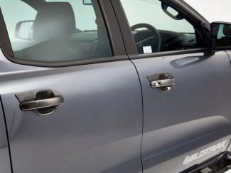 Carbon Fibre Door Handle Bowl Set - Ford Ranger 2012 On
