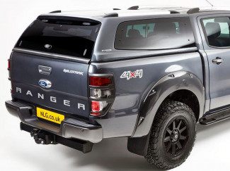 Ford Ranger 2012 Onwards Double Cab Carryboy S6 Hard Top Canopy Pop Out Windows