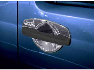Nissan Navara D40 Chrome Door Handle Insert Set