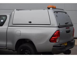 Mitsubishi L200 2015 Club Cab Pro//Top Gullwing Glass Tailgate Door in U25 Silver
