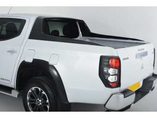 Mitsubishi L200 Series 5 and 6 2015 On, Sports Styling Bar in X08 Black