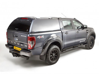 2012 Onwards Ford Ranger Double Cab Carryboy Commercial Hard Top Canopy With Central Locking
