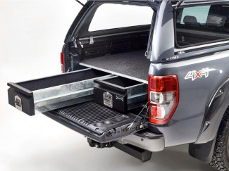 Ford Ranger Double Cab 2012 Onwards Bespoke Load Bed Drawer System