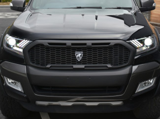 Ford Ranger 2016 Onwards Predator Grille Wildtrak Grey BJ9