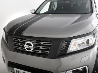 Nissan Navara NP300 Grille - Outer Surround - Matt Black