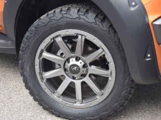 20 X 9 Gun Metal Grey Predator Hurricane Alloy Wheel Ford Ranger Raptor 2019 on