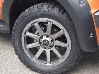 Mitsubishi L200 Series 5 2015-2019 - 20X9 Predator Hurricane Alloy Wheel - Matt Grey