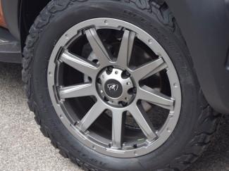 Mitsubishi Shogun/Pajero 18X8 Hurricane Predator Black Finish Alloy wheel