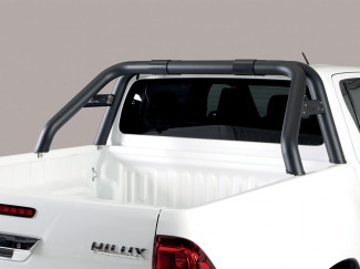 Toyota Hilux Invincible X Double Cab 2018 On Black Roll Bar MRK RLD/K/410/PL